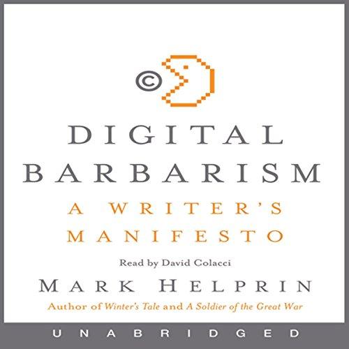 Digital Barbarism audiobook cover art