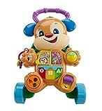 Fisher-Price Ríe y Aprende - Andador Perrito Primeros Pasos, Correpasillos Bebé +6 meses (Mattel...