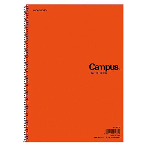 コクヨ キャンパス スケッチブック A4 一般・学用 厚口22枚 エ-300N