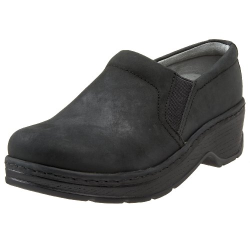 Klogs USA Women's Naples Clog,Black Oiled,8 M US