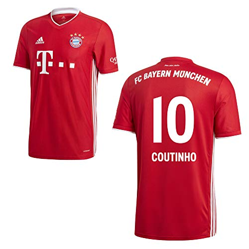 adidas FCB FC Bayern München Trikot Home Heimtrikot 2020 2021 Kinder Coutinho 10 Gr 128