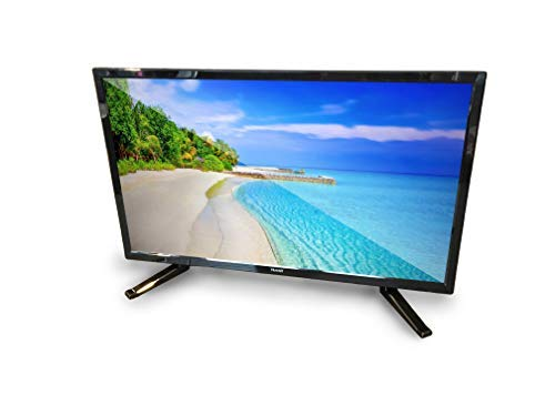 Free Signal TV Transit 22' 12 Volt DC Powered LED Flat Screen HDTV for RV Camper and...