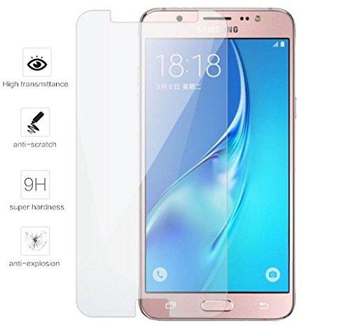 Tumundosmartphone Protector Pantalla Cristal Templado para Samsung Galaxy J5 (2016) Vidrio