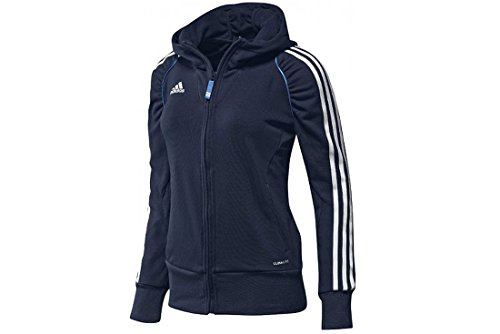 adidas - Sudadera con Capucha para Mujer (Talla 12) Azul Azul Marino Talla:34