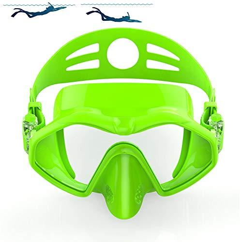 SDFHTYN Gafas Adultas inmersión Profunda Lente Gafas