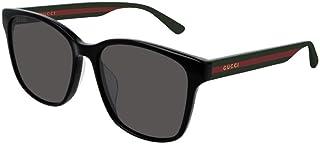غوتشي نظارات شمسية للجنسين، لون العدسة رمادي