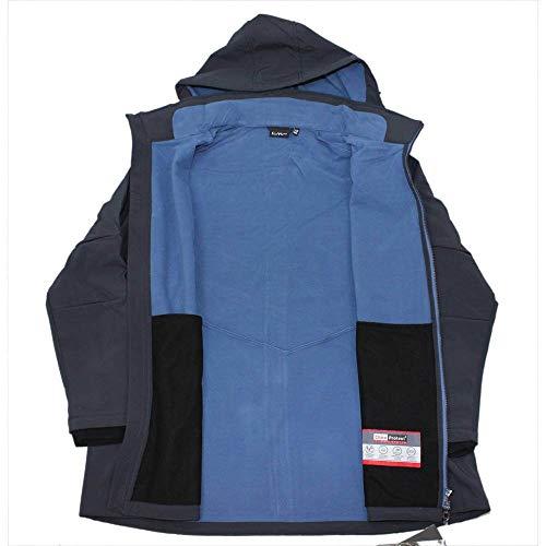 Campagnolo CMP Damen Softshell Jacke Alle Größen Übergrößen Kurzgrößen, anthrazit/blau, 50