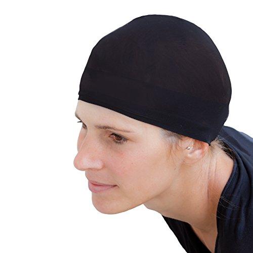 Oblique-Uniuqe® Haarnetz Unterziehhaube Schwarz Perücke - Einheitsgröße