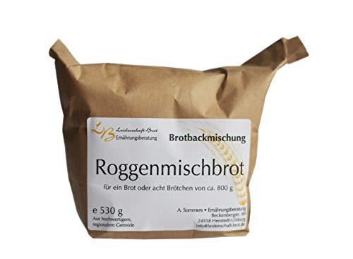 Leidenschaft-Brot - Brotbackmischung Roggenmischbrot ca. 530 g