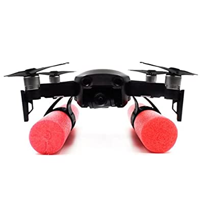 Spritumn DJI Spark Accessories Heightened Landing Gear Holder Protector for DJI Spark Skid Legs Kit,Safe Extended DJI Spark Landing Mount + Floating Sticks Waterproof For DJI Mavic AIR Drone
