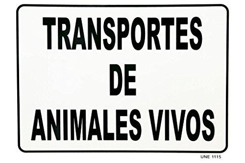 Cofan 199018 - Señal de transporte de animales vivos