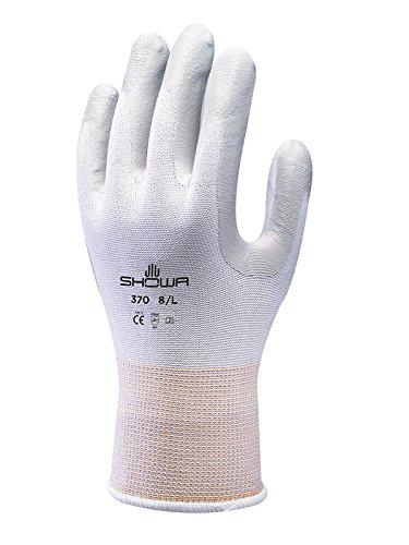 Showa Guanti SHO370-XL No.370 Palm Fit, guanti taglia XL, bianco/grigio
