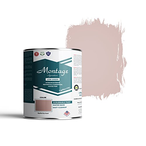 Montage Signature Paint Interior/Exterior Eco-Friendly Paint, 1 Gallon, Snow White
