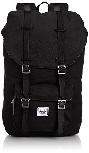 Herschel Unisex-Erwachsene Classic Rucksack, schwarz, 24L
