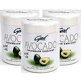 good グッド インドネシアバリ島の伝統的なヘッドスパクリーム Creambath Emulsion クリームバス エマルション 250g × 3個 Avocado アボガド [海外直送品]