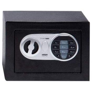 Caja Fuerte Electronica con Clave y Llave para hogar y Oficina 170 x 230 x 170mm. Smart Box 17CI: Amazon.es: Joyería