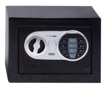 Caja Fuerte Electronica con Clave y Llave para hogar y Oficina 170 x 230 x 170mm. Smart Box 17CI