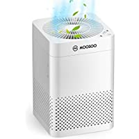 Moosoo HEPA Air Purifier with Three-layer Filtration System