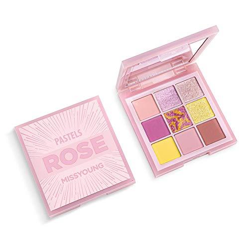 MissYoung's neue 9-Farben-Lidschatten-Palette Spring New Pearlescent Matte Combination Eyeshadow