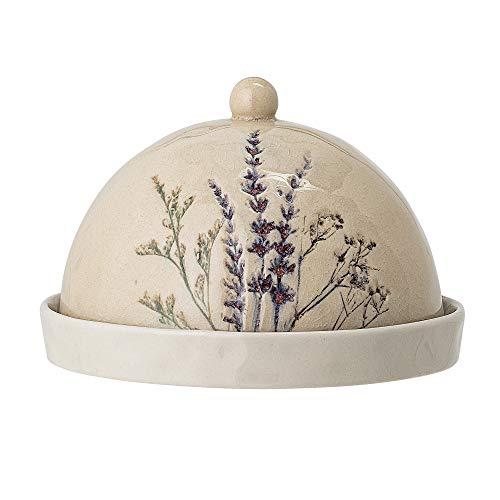 Bloomingville Butterdose Bea, natur, Keramik