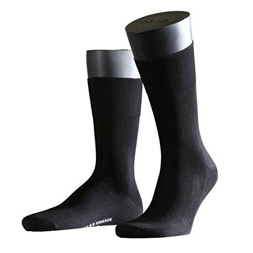 FALKE City Herren Socken Firenze 3er Pack, black-3000, 43/44