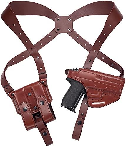 Craft Holsters Sig P365 Compatible Holster - Lined Shoulder...