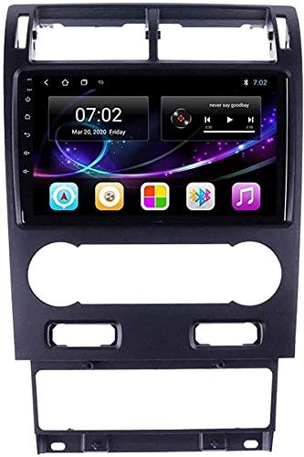 Navegación GPS Android 10.0 Radio compatible con Ford Mondeo 3 2000-2007 Navegación GPS Unidad principal de 9 pulgadas Pantalla táctil Reproductor multimedia HD Video MP5 con WiFi DSP SWC Mirrorink