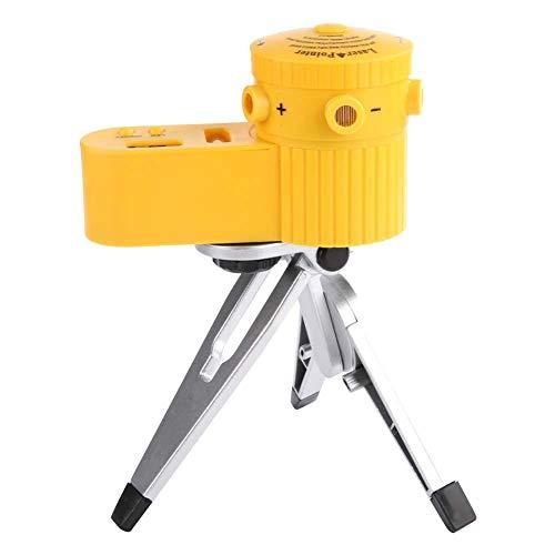 Niveaumeter, meetinstrument Verticale horizontale dwarslijn LED-niveaumeter met statief