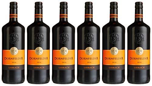 HXM Dornfelder Lieblich Qualitätswein Rheinhessen (6 x 1 l)