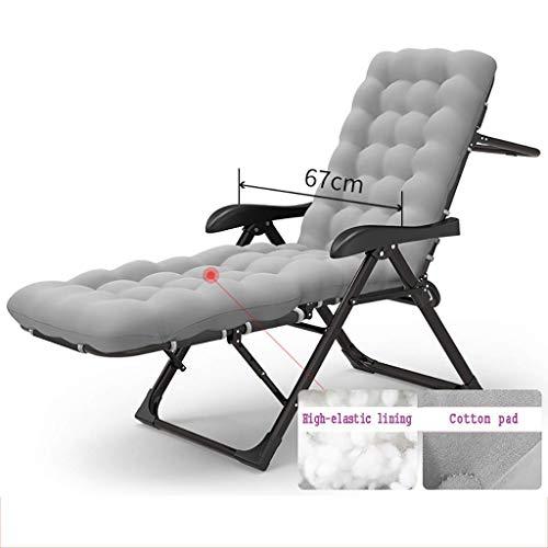 Alysays Sillón Mecedora reclinable Sillón de Metal, Cama Individual Plegable, sofá en Rama, reclinador de Cuna