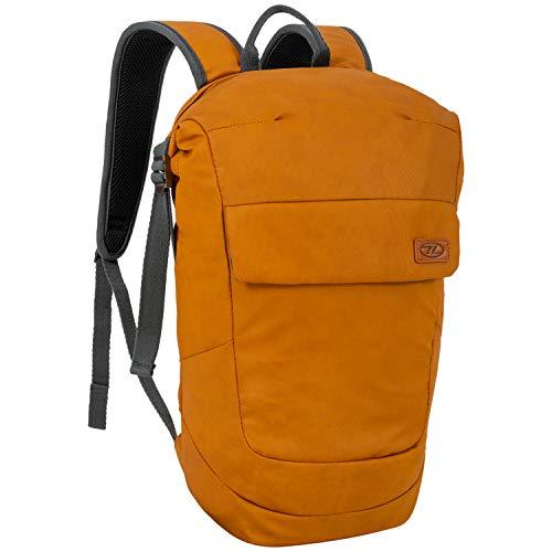 HIGHLANDER Zaino unisex 18 litri Rolltop – Zaino versatile impermeabile con scomparto per laptop imbottito – The Flug Bag, Unisex - Adulto, Borsa, autunno e arancione., L