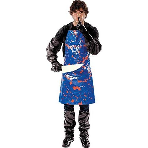 ORION COSTUMES Costume da uomo travestimento da macellaio horror Halloween