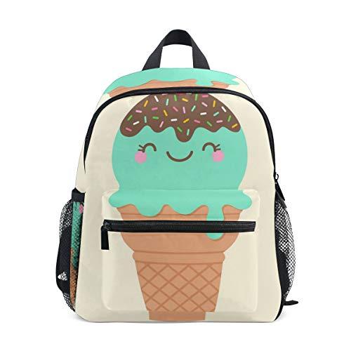 Rucksack für Kleinkinder, niedlich, Eiscreme, für Kinder von 3-8 Jahren