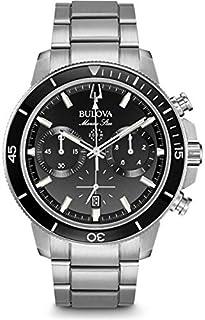 Bulova Herren Chronograph Quarz Uhr mit Edelstahl Armband 96B272 (B078KFWJ9C) | Amazon price tracker / tracking, Amazon price history charts, Amazon price watches, Amazon price drop alerts