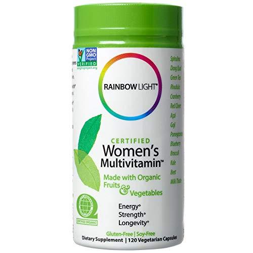 Rainbow Light, Certified Women's Multivitamin, 120 Veggie Caps