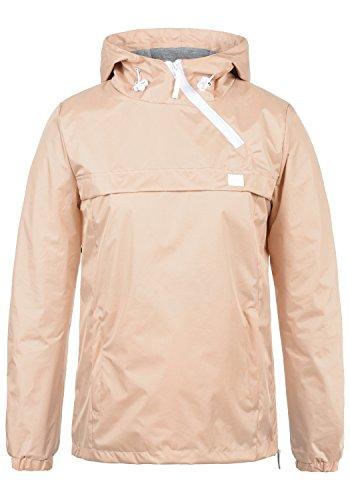 BlendShe Brij Damen Windbreaker Übergangsjacke Regenjacke Mit Kapuze, Größe:L, Farbe:Cameo Rose (20262)
