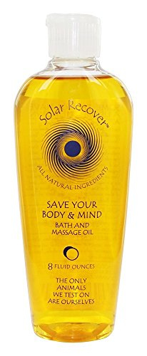 SOLAR RECOVER Save Your Body & Mind Bath Oil, 8 OZ