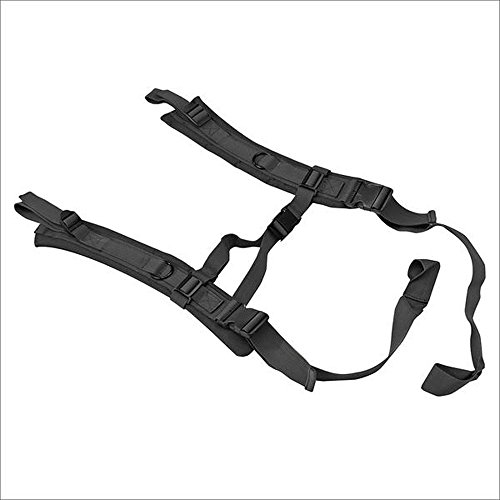 US Peacekeeper Backpack Straps for P30049 Black, Medium by Zippo Outdoors