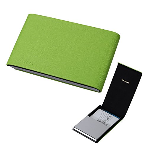 Epoint EDC04A04 Green Business Card Holder Card Case Best Business Name Id Credit Card Case