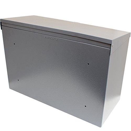 Hardcastle – Abschließbare Paketbox aus Metall – Groß – Grau - 5