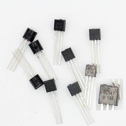 10 x Transistor BC547 – BC547B 166 – NPN – TO-92-38tran024