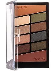 Wet n Wild Oogschaduwpalet make-up, 10 sterk gepigmenteerde kleuren - mix van glans + mat in een oogschaduwpalet