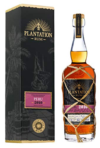 Plantation Plantation Rum PERU 2010 Pineau des Charentes Cask Maturation 2019 43,6% Vol. 0,7l in Giftbox - 700 ml