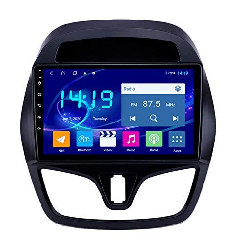 JALAL Navegador GPS para Coche Android 9 para Chevrolet Spark 2015-2018 2Din 1080P Pantalla SWC DSP Salida de Video Manos Libres Bluetooth incorporada Compatible con TPMS OBD2 WiFi + 4G