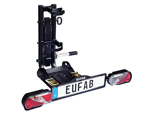 EUFAB 11533 Anhängerkupplungsträger für E-Scooter, Black