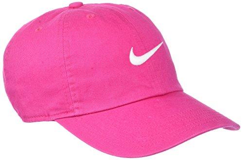 Nike Kinder Swoosh Heritage 86 Baseball-Cap, Vivid Pink/White, One Size
