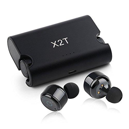 Chevron C165 Truly Wireless Bluetooth Earphones with Mic (Black)