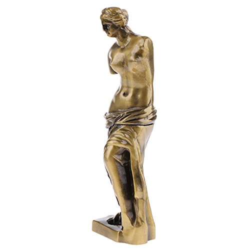 B Blesiya 7x2 '' Diosa Afrodita (Venus) Figuras Romanas Griegas Mitología Estatua Escultura - Bronce