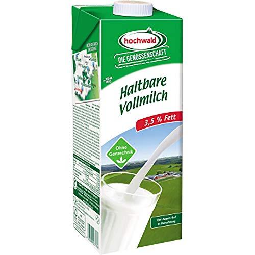 Hochwald 3872KT H-Milch Vollmilch 3,5 % Tetra Pak® 12 x 1 Liter