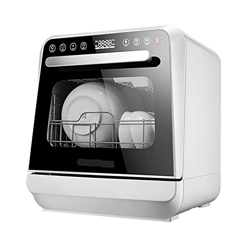 ELXSZJ XTZJ Lavaplatos, lavavajillas portátiles, 7 programas, función de Aire en seco para pequeños Apartamentos, dormitorios y RVs